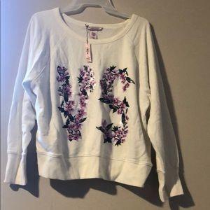 White Victoria's Secret sweater